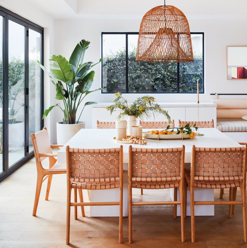 Garance Dore's Modern L.A. Home Makes a Case for Blush