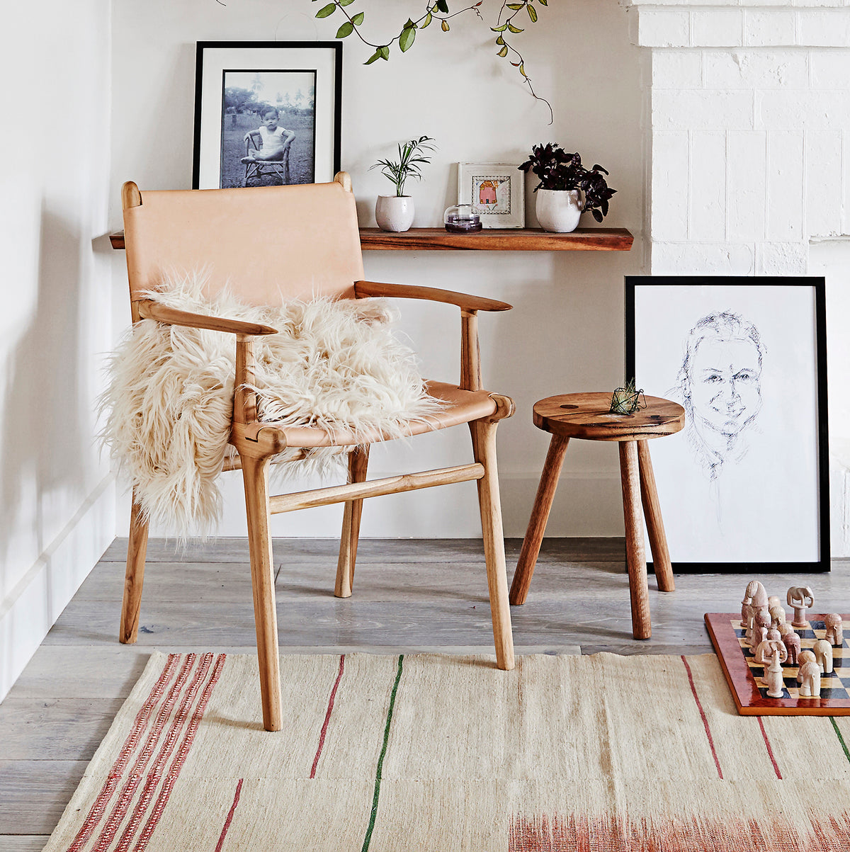 Minimalism Meets Whimsy in this Scandinavian Style Melbourne Bungalow