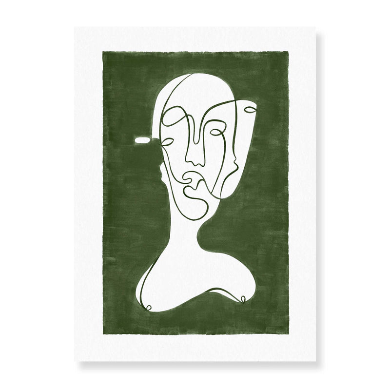 Faces Reversed - Angus Martin Print