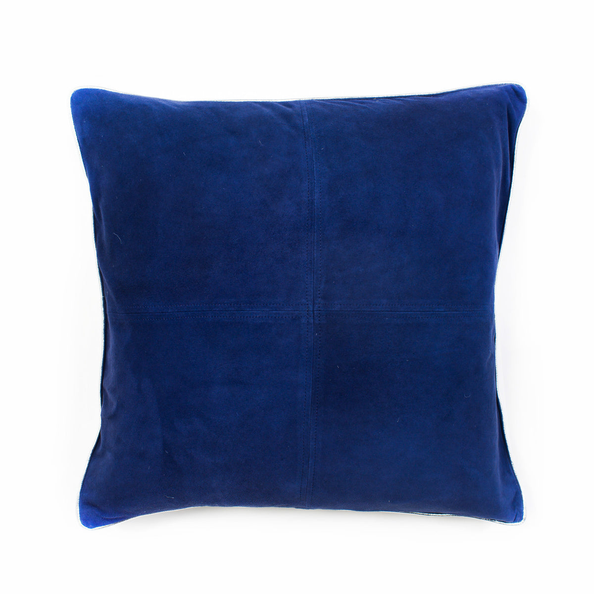 Harper Suede Cushion - Navy