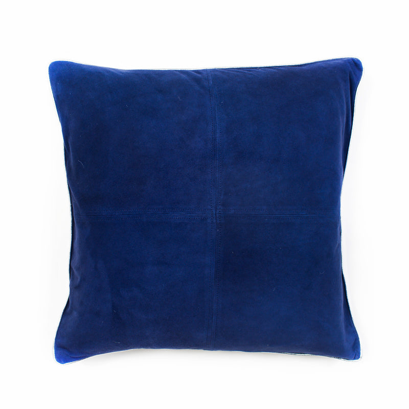 Harper Suede Cushion Cover - Navy