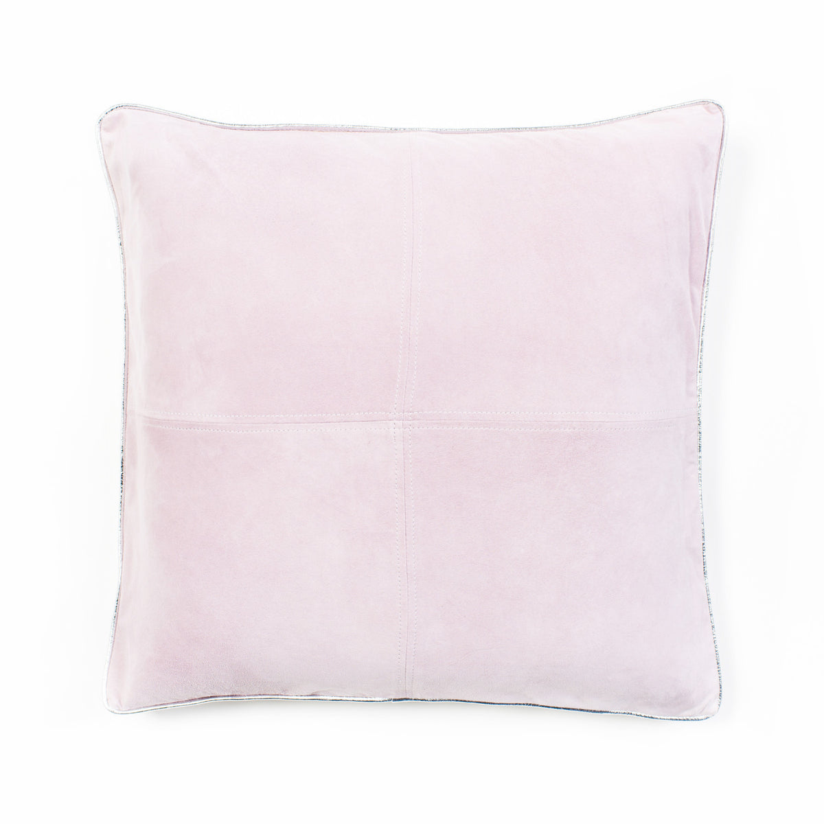Harper Suede Cushion - Lilac