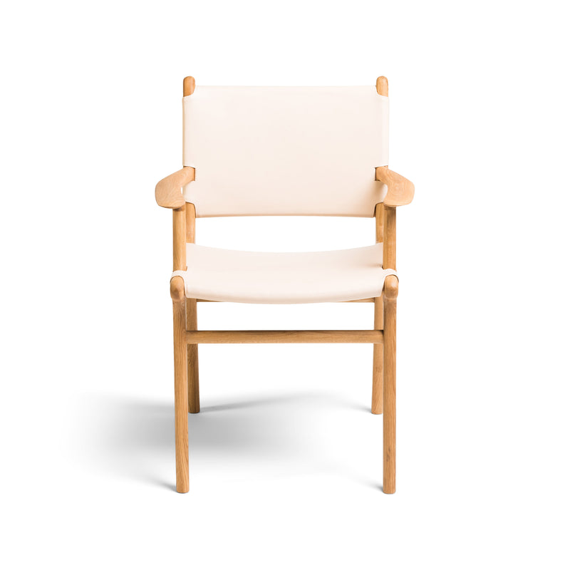 Fenwick Dining Chair Oak - Rose Blush