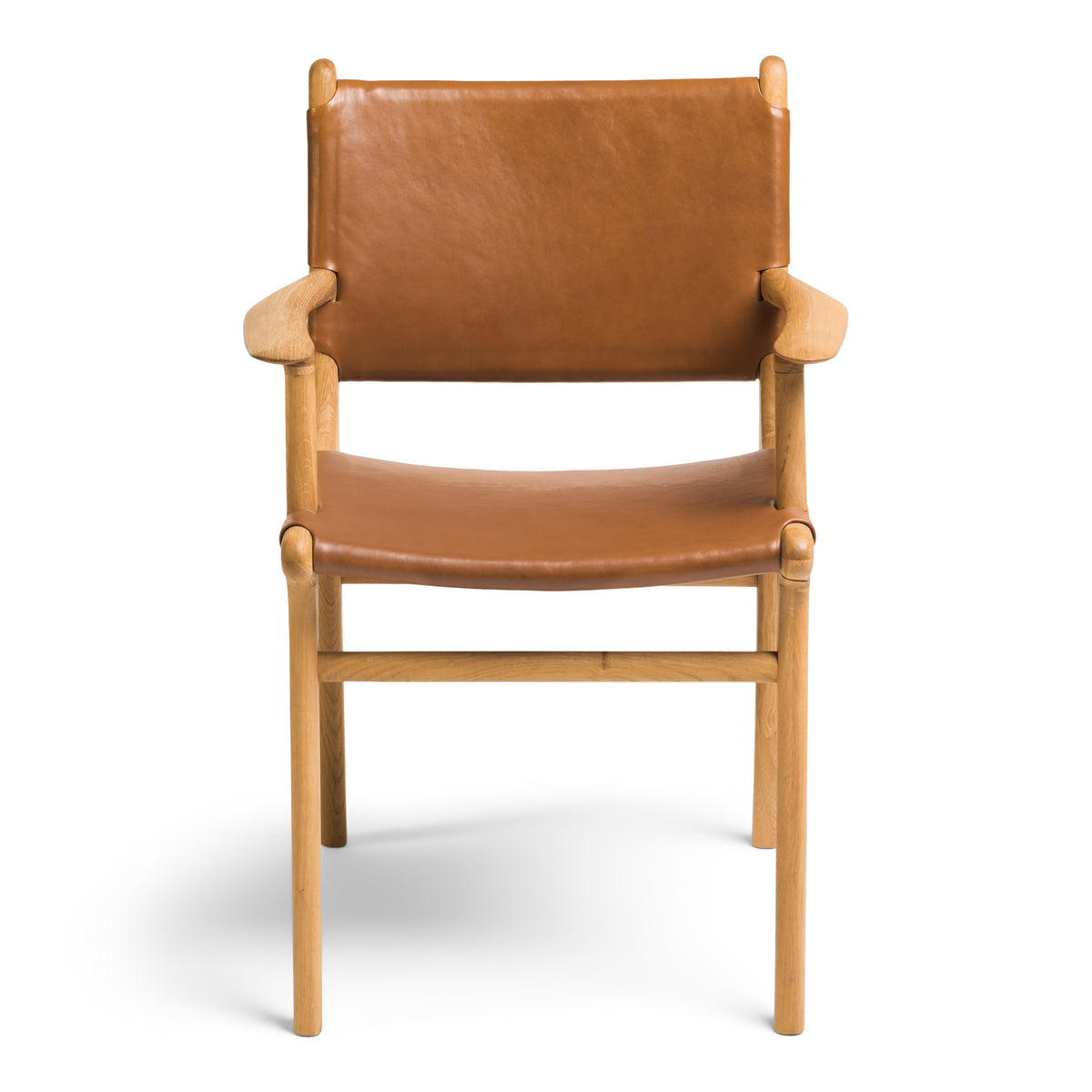 Fenwick Dining Chair Oak - Tan