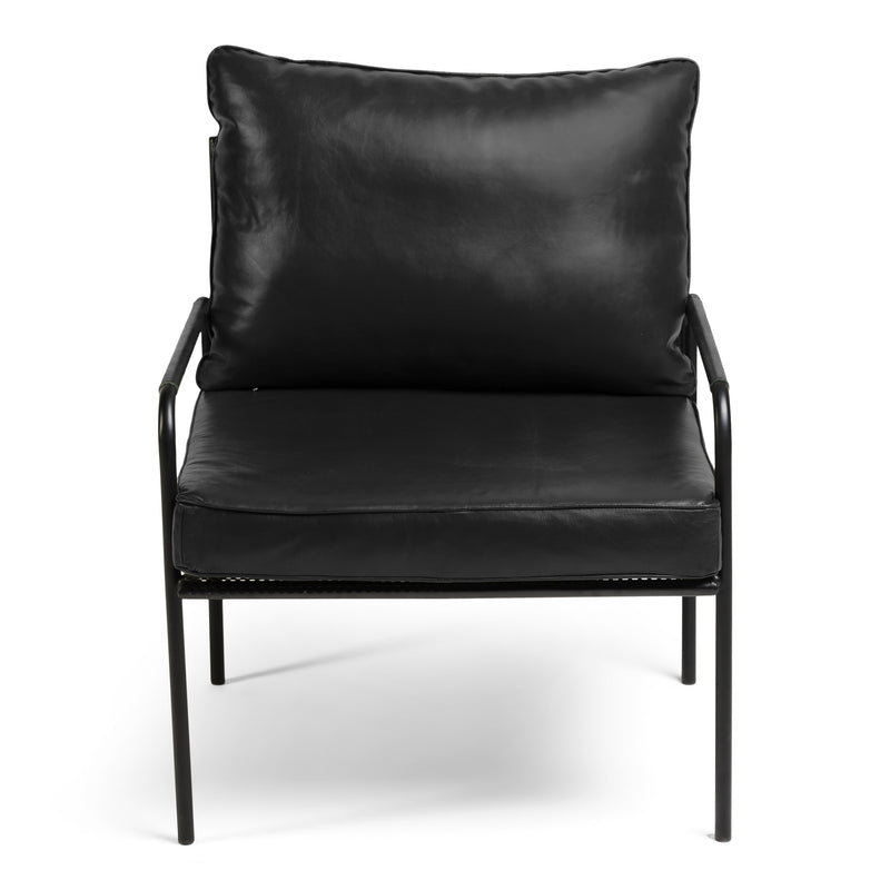 Fitzroy Armchair - Black