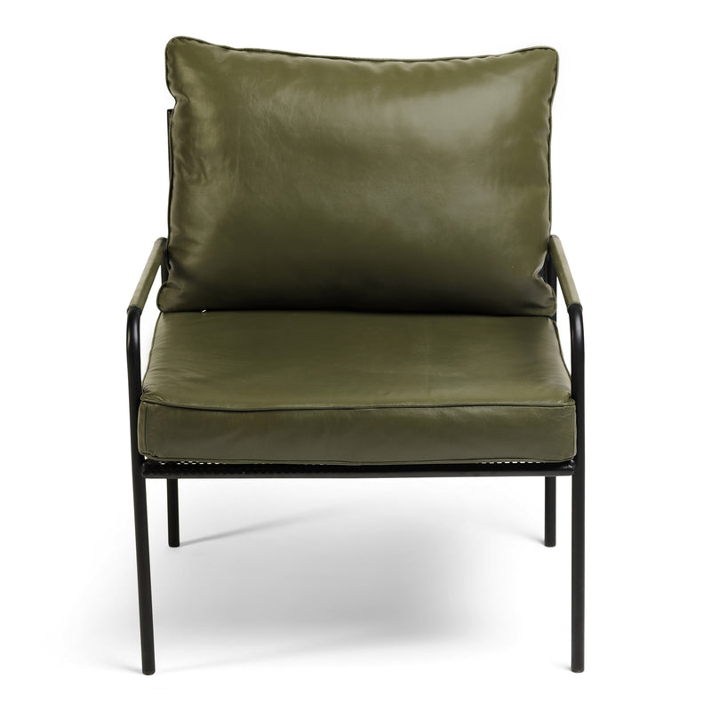 Fitzroy Armchair - Olive
