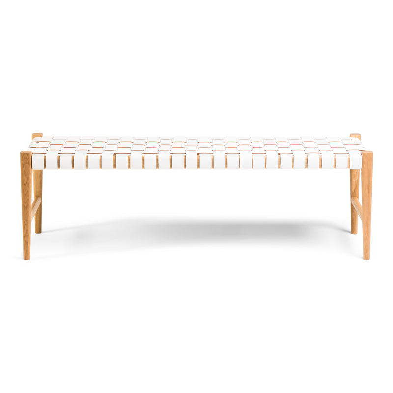 Kent Bench Oak - White