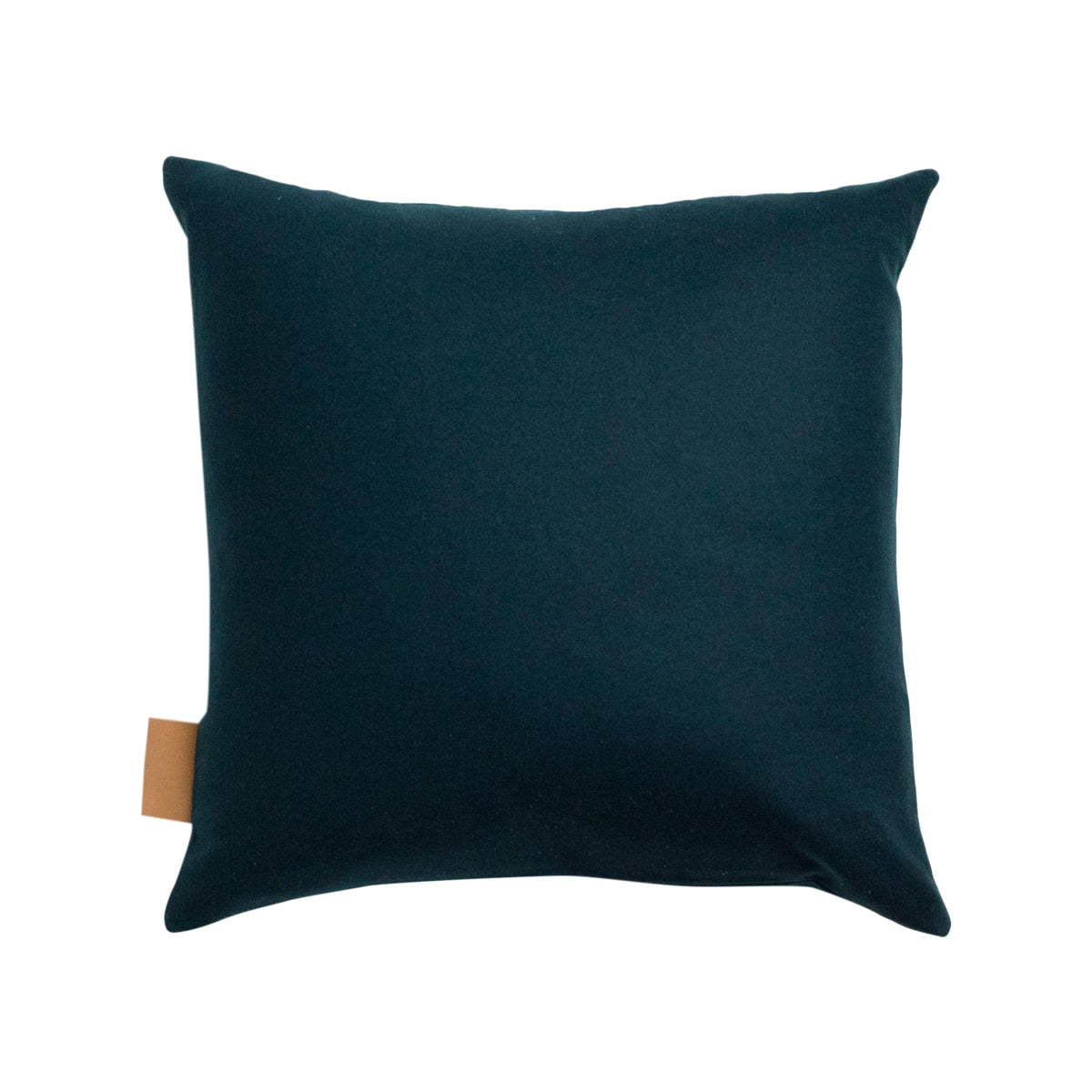Frankie Square Cushion Cover - Forest Green