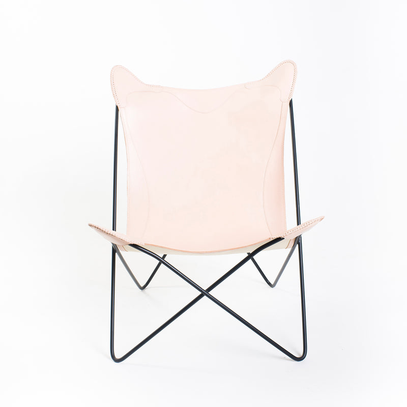 Floor Stock - Roseneath Butterfly Chair - Rose Blush & Black
