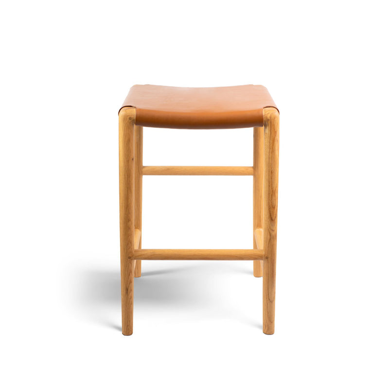 Spensley Stool Oak - Tan