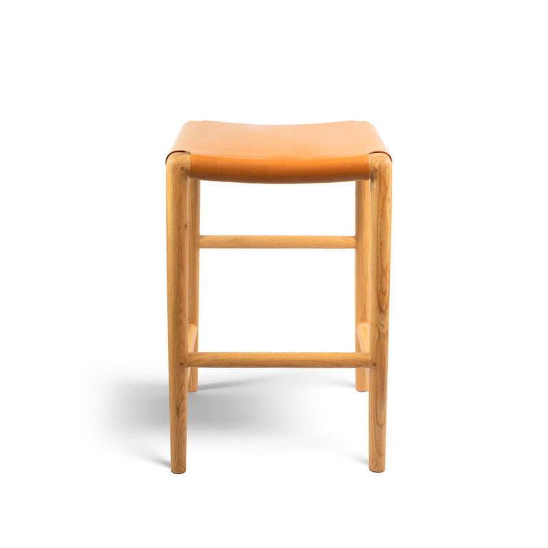 Spensley Stool Oak - Whiskey