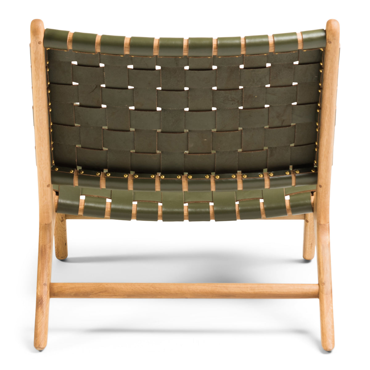 Tanner Armchair Oak - Olive