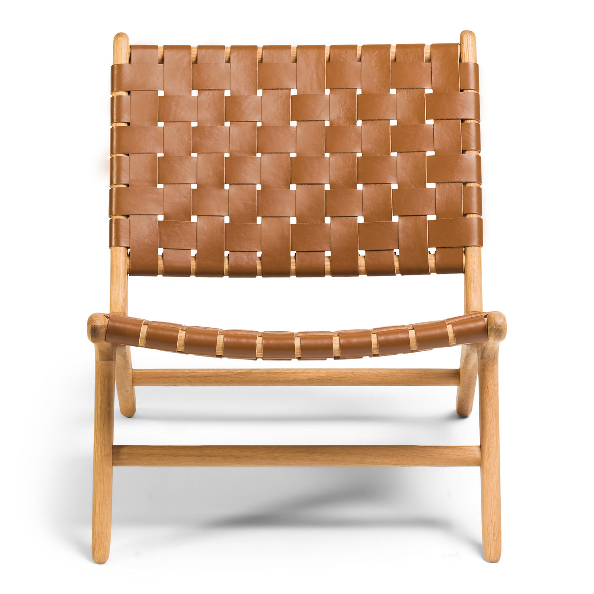 Tanner Armchair Oak - Tan