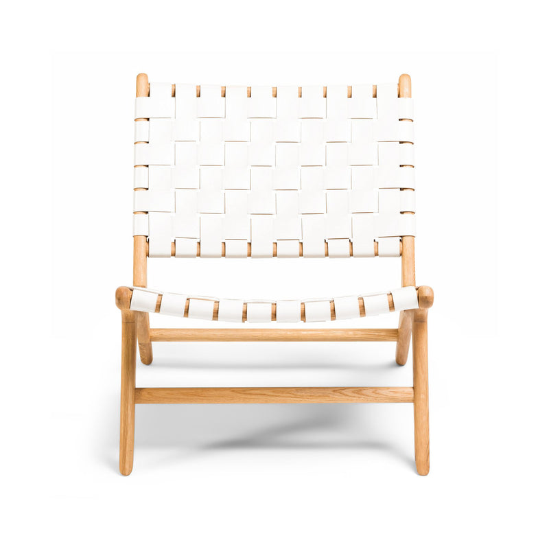 Tanner Armchair Oak - White