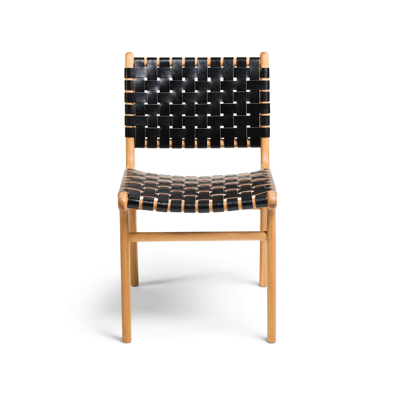 Tanner Dining Chair Oak - Black