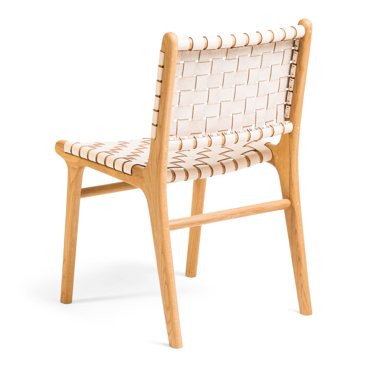 Tanner Dining Chair Oak - Rose Blush