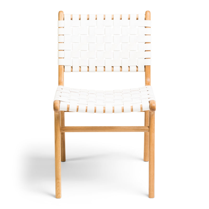 Tanner Dining Chair Oak - White