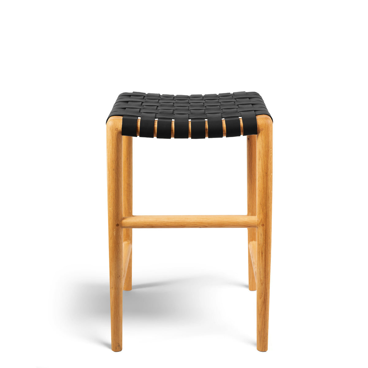 Tanner Stool Oak - Black
