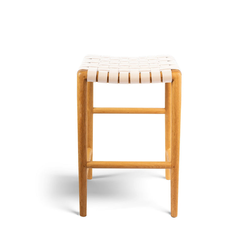 Tanner Stool Oak - Rose Blush