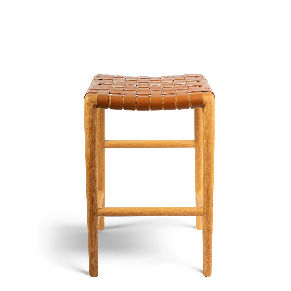 Tanner Stool Oak - Tan