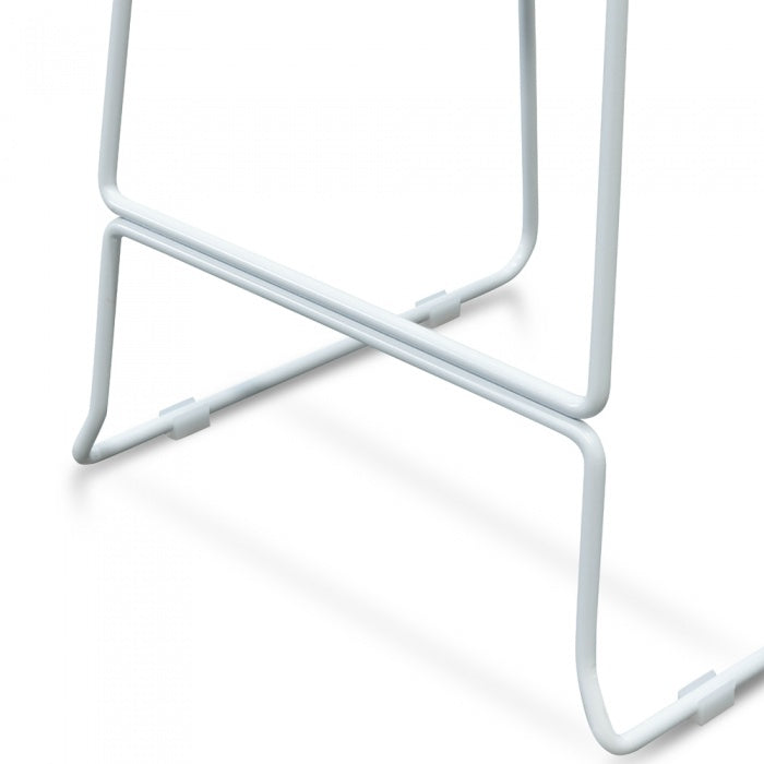 Albert Stool - White