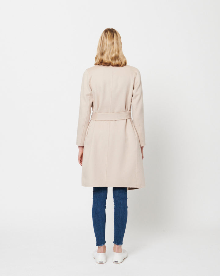 Meghan Coat in Camel Rosebud