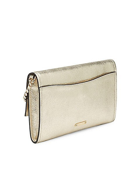 Jean Convertible Clutch Champagne
