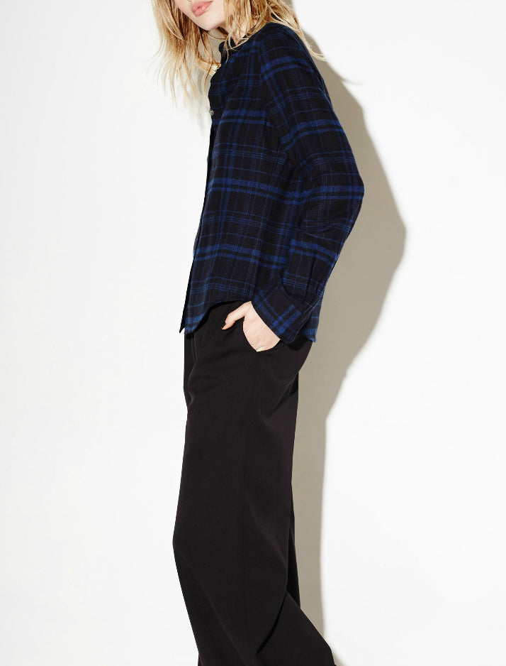 Kate Moss x Equipment: London Flannel Shirt