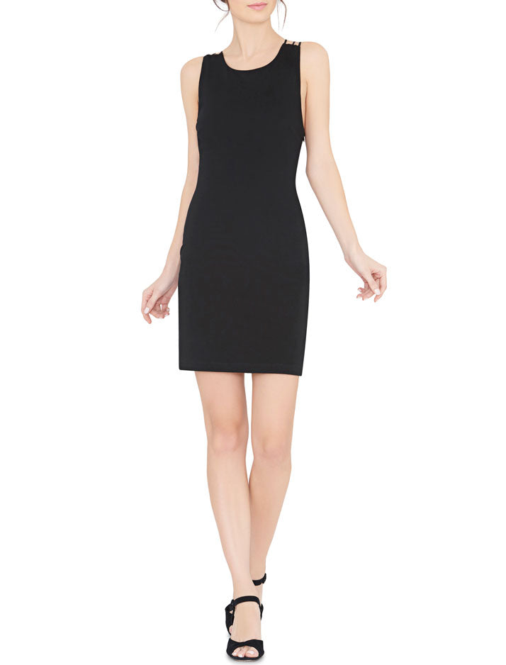 Kell Crossback Fitted Dress