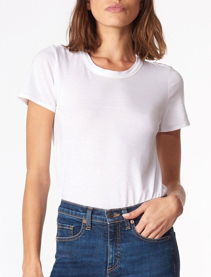 Lauren Crew Neck White