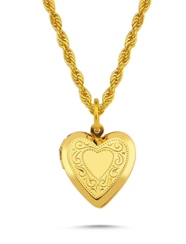Necklace Heart Locket Darling