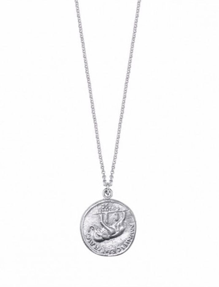 Big elephant coin necklace