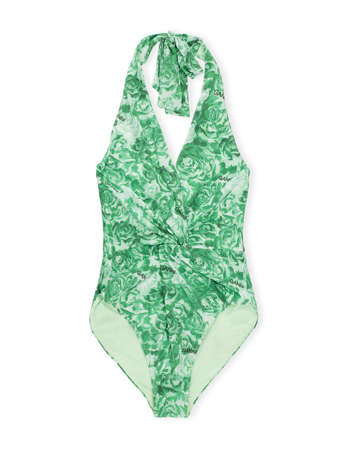 Recycled Fabric Twist Swimsuit
