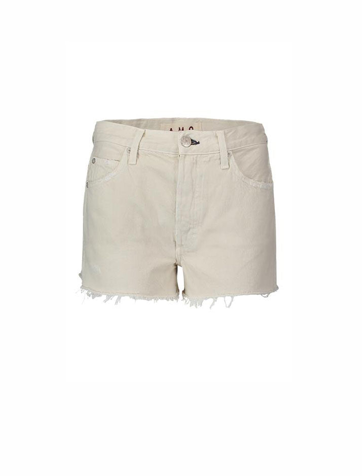 Loverboy cut-offs in vintage white