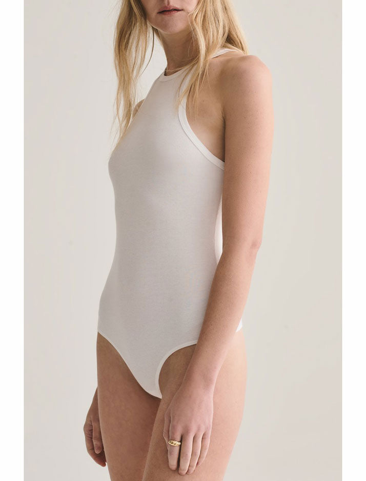 Rianne Bodysuit in white
