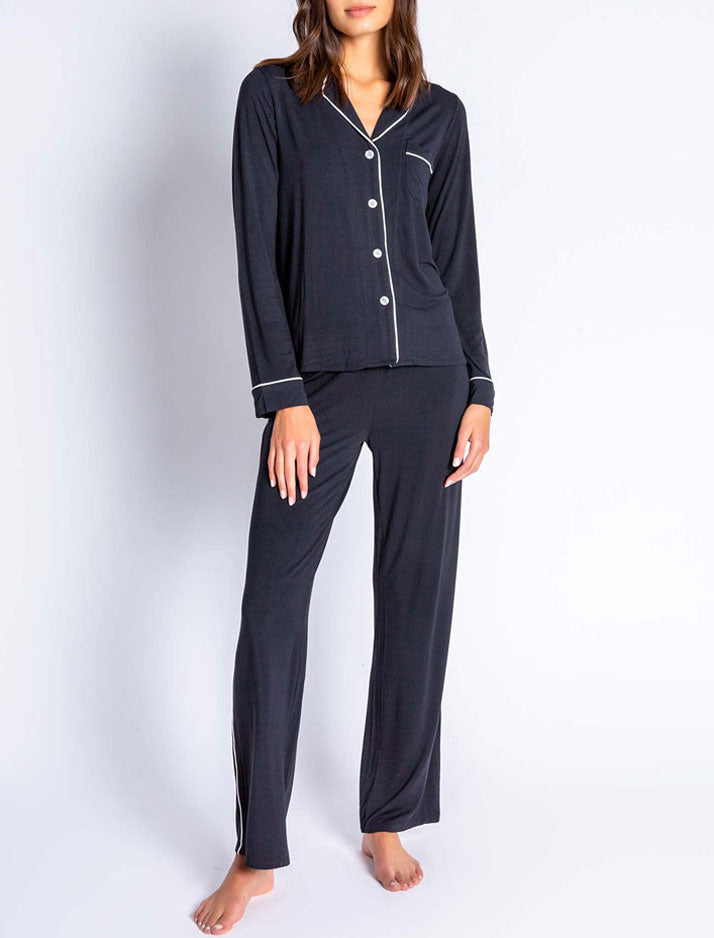 Modal Basics Solid PJ Set Black