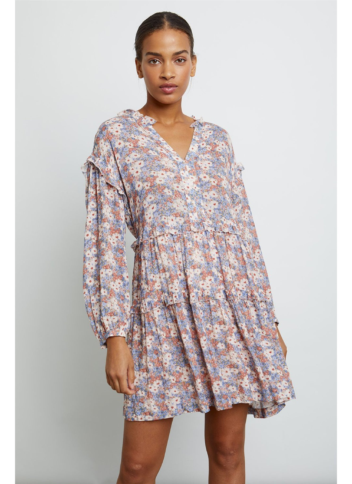 Poppie Dress in Pink Jasmine