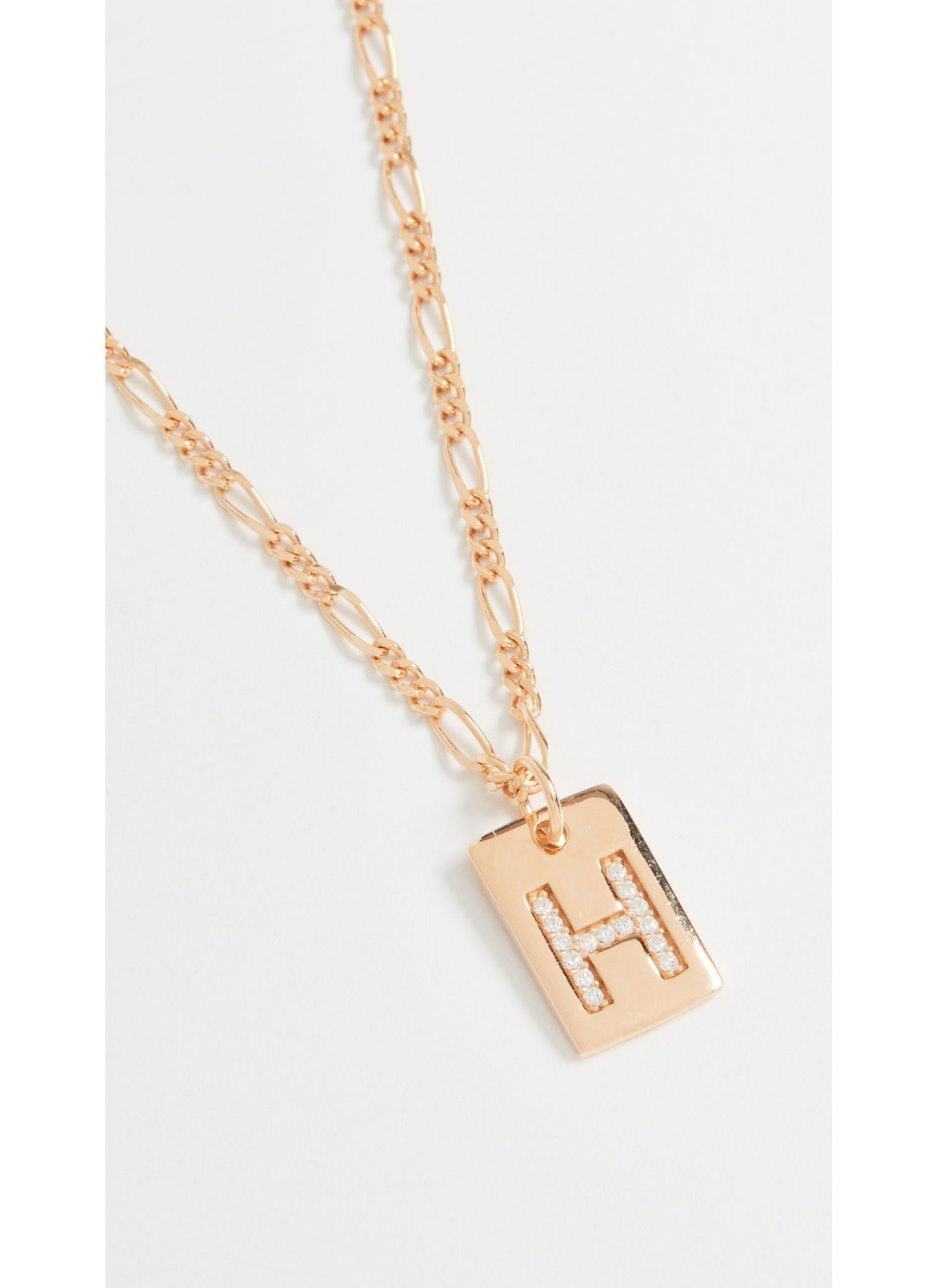 Tilly Initial Necklace in Gold