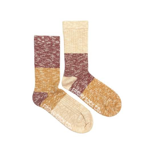 Autumn Leaves Camp Socks