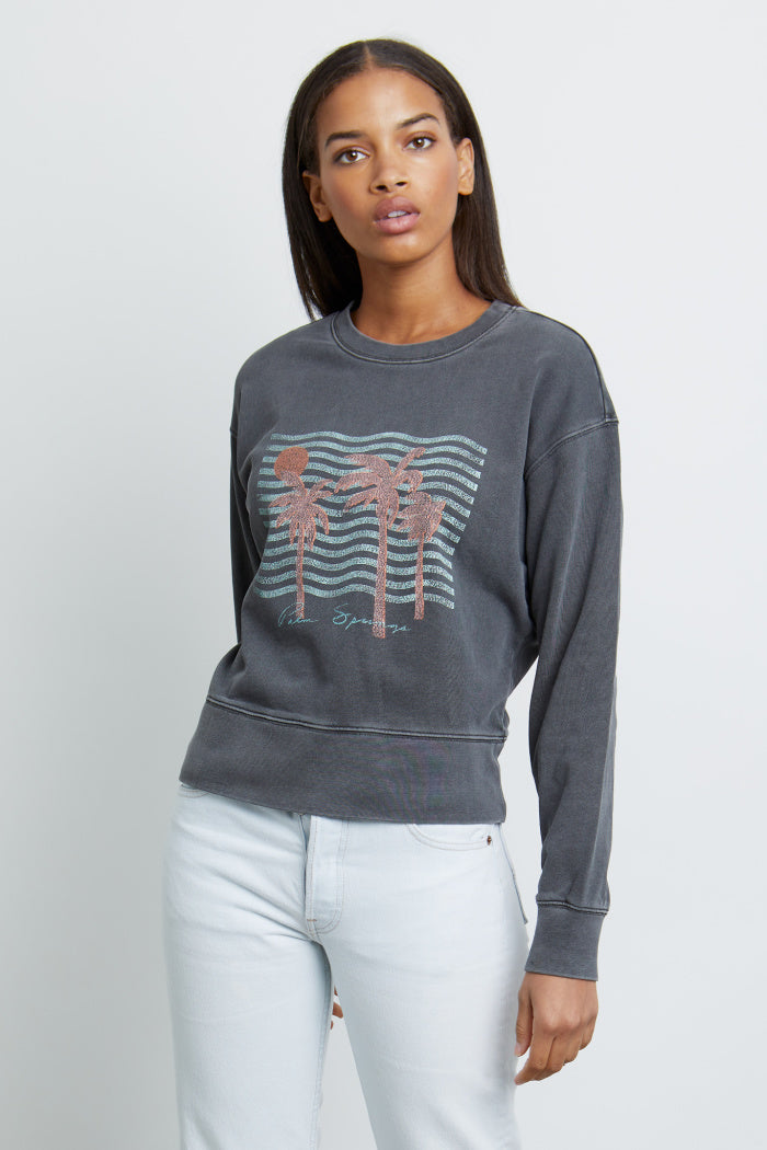 Ramona Sweatshirt in Palm Springs
