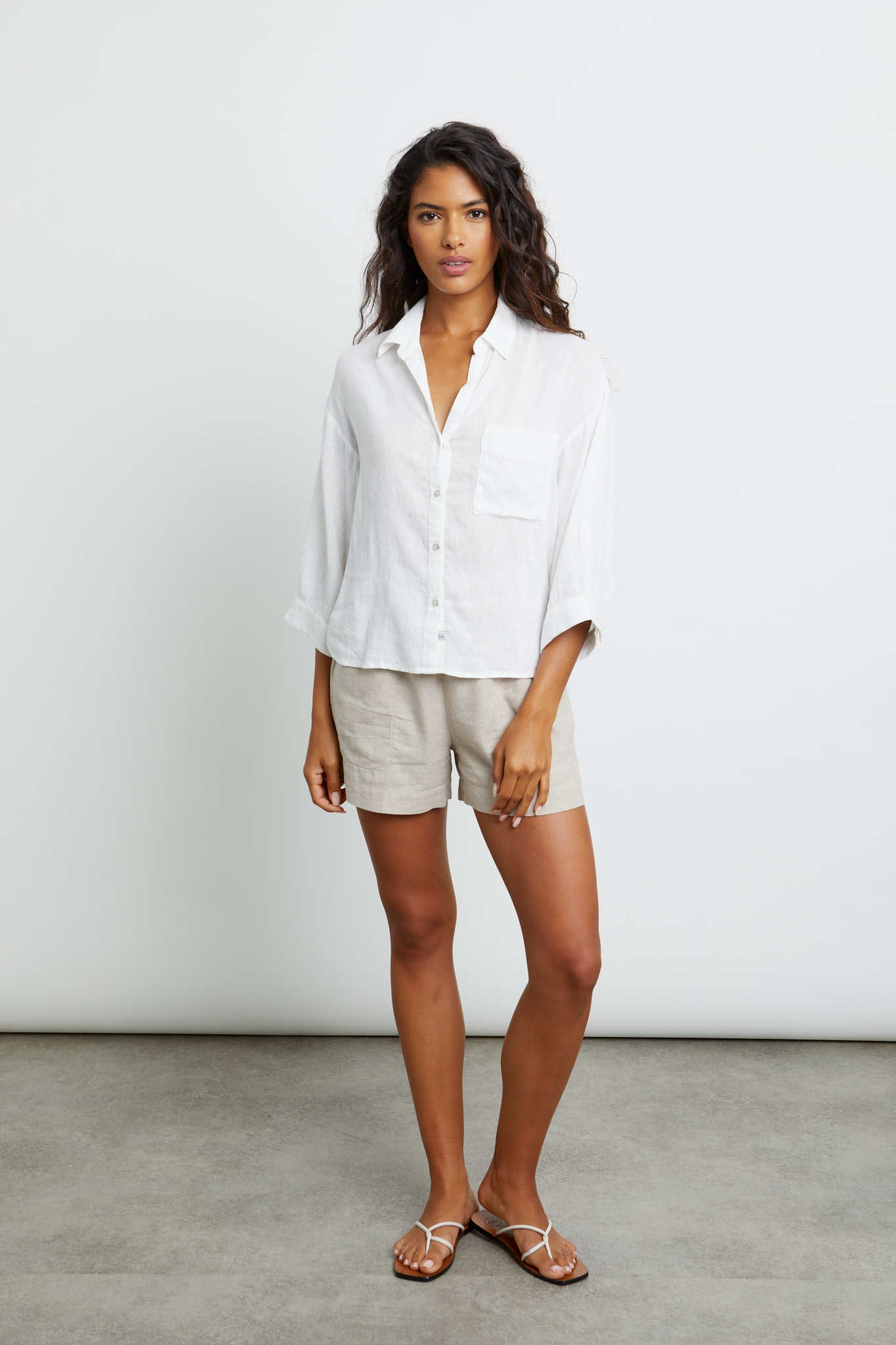 Marloes Button Down in White