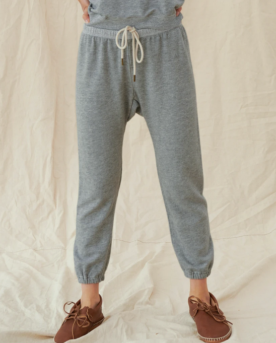The Stadium Sweatpant. Varsity Grey