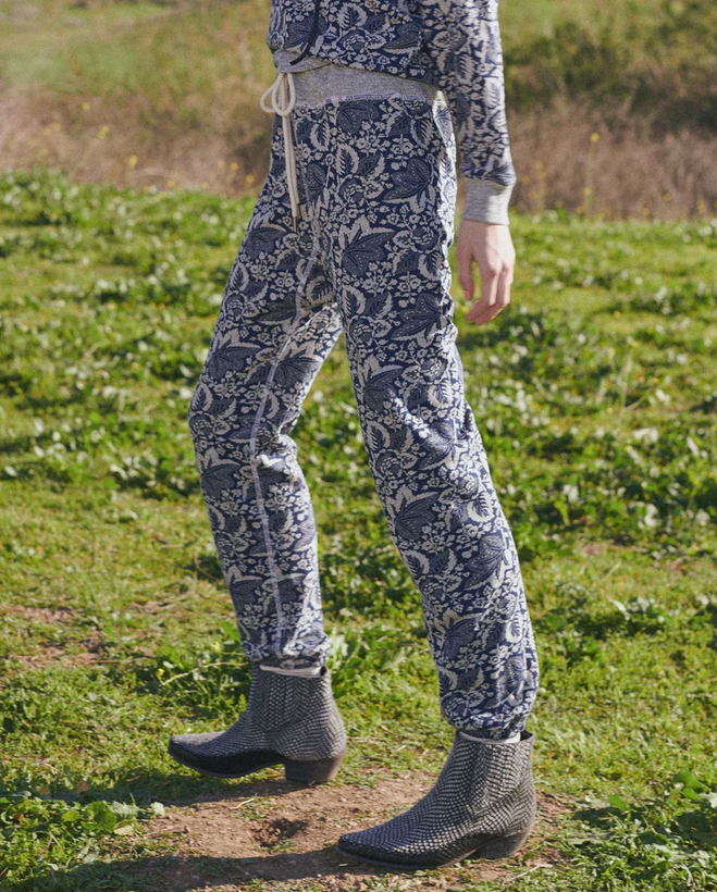 The Warm Up Sweatpant. Heathered Falling Leaves