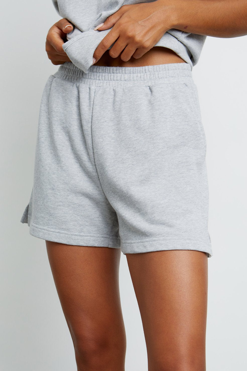 Jane Shorts in Heather Grey