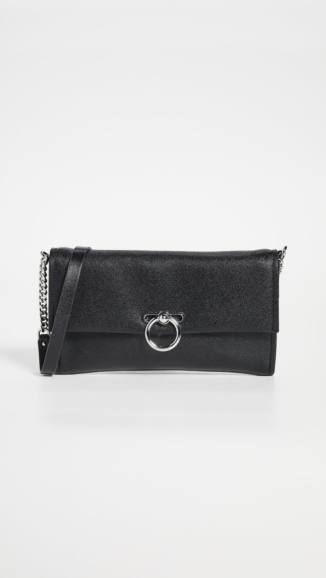 Jean Convertible Clutch Black