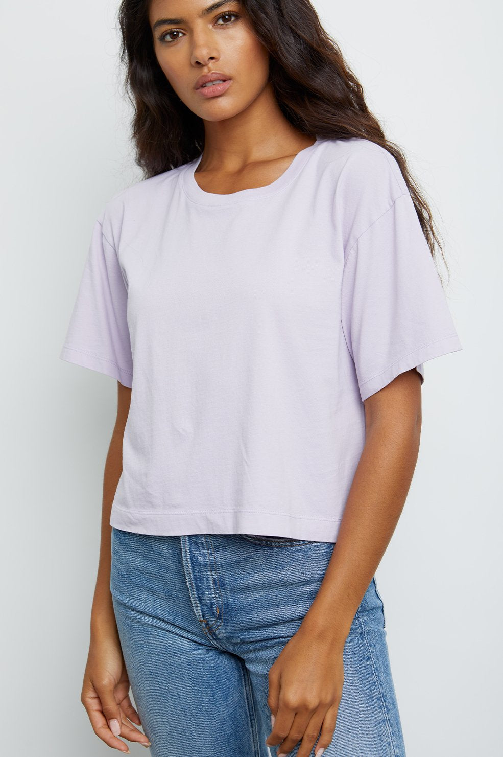 The Boxy Crew in Lavender