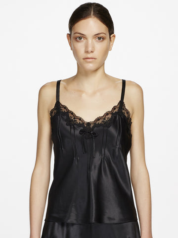 GINIA Silk lace camisole - The Lingerie Boutique