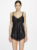 Silk lace camisole black - LingerieBoutique - 2