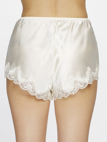 Silk lace shorts - LingerieBoutique - 2