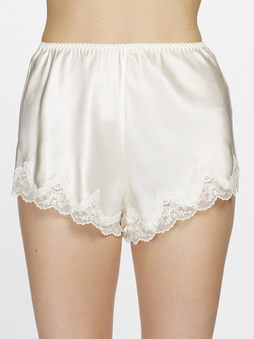 Silk lace shorts - LingerieBoutique - 1
